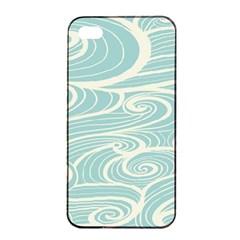 Blue Waves Apple Iphone 4/4s Seamless Case (black)