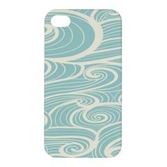 Blue Waves Apple iPhone 4/4S Premium Hardshell Case