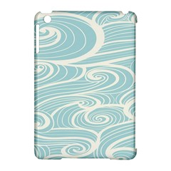 Blue Waves Apple iPad Mini Hardshell Case (Compatible with Smart Cover)