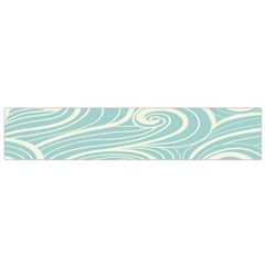 Blue Waves Flano Scarf (Small)