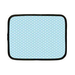 Circle Blue White Netbook Case (Small)