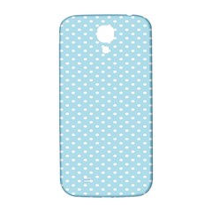 Circle Blue White Samsung Galaxy S4 I9500/I9505  Hardshell Back Case