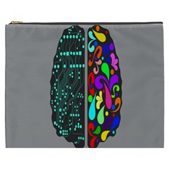 Emotional Rational Brain Cosmetic Bag (XXXL)