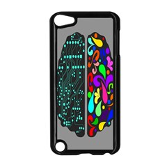 Emotional Rational Brain Apple iPod Touch 5 Case (Black)