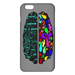 Emotional Rational Brain iPhone 6 Plus/6S Plus TPU Case