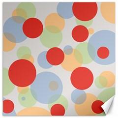 Contrast Analogous Colour Circle Red Green Orange Canvas 12  x 12