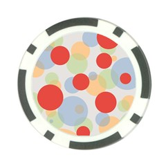 Contrast Analogous Colour Circle Red Green Orange Poker Chip Card Guard