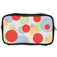 Contrast Analogous Colour Circle Red Green Orange Toiletries Bags 2-Side