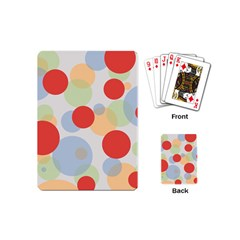 Contrast Analogous Colour Circle Red Green Orange Playing Cards (Mini)