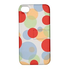 Contrast Analogous Colour Circle Red Green Orange Apple iPhone 4/4S Hardshell Case with Stand