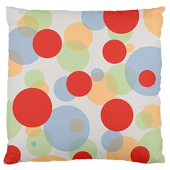 Contrast Analogous Colour Circle Red Green Orange Standard Flano Cushion Case (Two Sides)