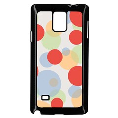 Contrast Analogous Colour Circle Red Green Orange Samsung Galaxy Note 4 Case (Black)