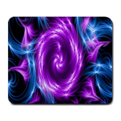 Colors Light Blue Purple Hole Space Galaxy Large Mousepads