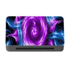 Colors Light Blue Purple Hole Space Galaxy Memory Card Reader with CF