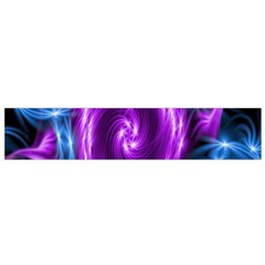 Colors Light Blue Purple Hole Space Galaxy Flano Scarf (Small)