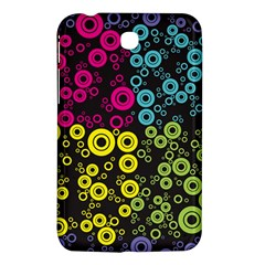 Circle Ring Color Purple Pink Yellow Blue Samsung Galaxy Tab 3 (7 ) P3200 Hardshell Case