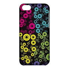 Circle Ring Color Purple Pink Yellow Blue Apple iPhone 5C Hardshell Case