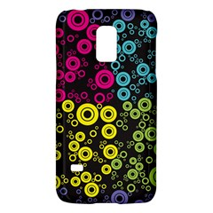 Circle Ring Color Purple Pink Yellow Blue Galaxy S5 Mini