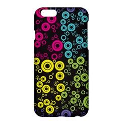 Circle Ring Color Purple Pink Yellow Blue Apple iPhone 6 Plus/6S Plus Hardshell Case