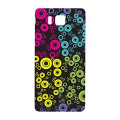 Circle Ring Color Purple Pink Yellow Blue Samsung Galaxy Alpha Hardshell Back Case