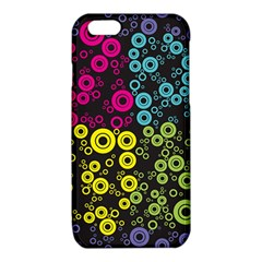Circle Ring Color Purple Pink Yellow Blue iPhone 6/6S TPU Case
