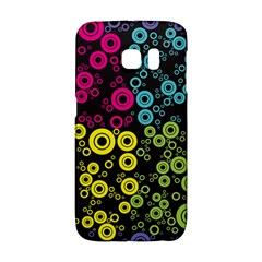 Circle Ring Color Purple Pink Yellow Blue Galaxy S6 Edge