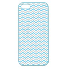 Free Plushie Wave Chevron Blue Grey Gray Apple Seamless iPhone 5 Case (Color)