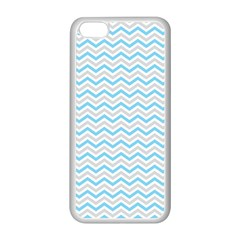 Free Plushie Wave Chevron Blue Grey Gray Apple iPhone 5C Seamless Case (White)