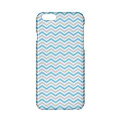 Free Plushie Wave Chevron Blue Grey Gray Apple iPhone 6/6S Hardshell Case