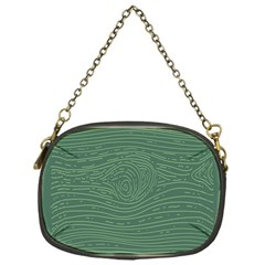 Illustration Green Grains Line Chain Purses (one Side)