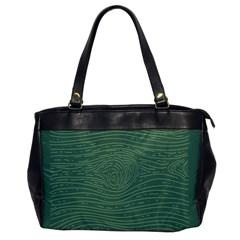 Illustration Green Grains Line Office Handbags