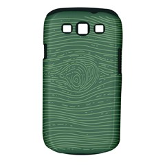Illustration Green Grains Line Samsung Galaxy S III Classic Hardshell Case (PC+Silicone)