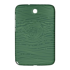 Illustration Green Grains Line Samsung Galaxy Note 8.0 N5100 Hardshell Case