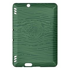 Illustration Green Grains Line Kindle Fire HDX Hardshell Case