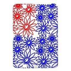 Flower Floral Smile Face Red Blue Sunflower Kindle Fire HD 8.9