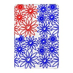 Flower Floral Smile Face Red Blue Sunflower Samsung Galaxy Tab Pro 12.2 Hardshell Case