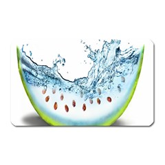 Fruit Water Slice Watermelon Magnet (rectangular)
