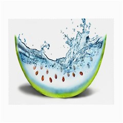 Fruit Water Slice Watermelon Small Glasses Cloth (2-Side)