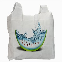 Fruit Water Slice Watermelon Recycle Bag (One Side)