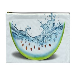 Fruit Water Slice Watermelon Cosmetic Bag (XL)