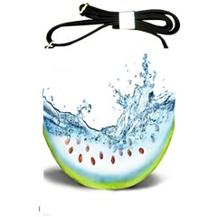 Fruit Water Slice Watermelon Shoulder Sling Bags