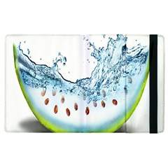 Fruit Water Slice Watermelon Apple iPad 3/4 Flip Case