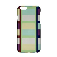 Maximum Color Rainbow Brown Blue Purple Grey Plaid Flag Apple iPhone 6/6S Hardshell Case