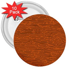 Illustration Orange Grains Line 3  Buttons (10 pack)