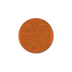 Illustration Orange Grains Line Golf Ball Marker