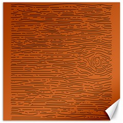Illustration Orange Grains Line Canvas 20  X 20