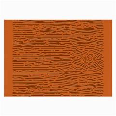 Illustration Orange Grains Line Large Glasses Cloth