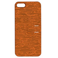 Illustration Orange Grains Line Apple iPhone 5 Hardshell Case with Stand