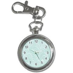Leaf Blue Key Chain Watches