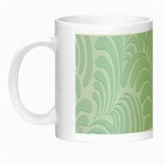 Leaf Blue Night Luminous Mugs